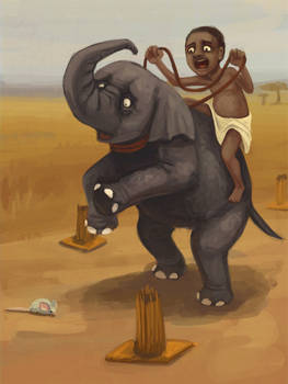 Elephant driving test
