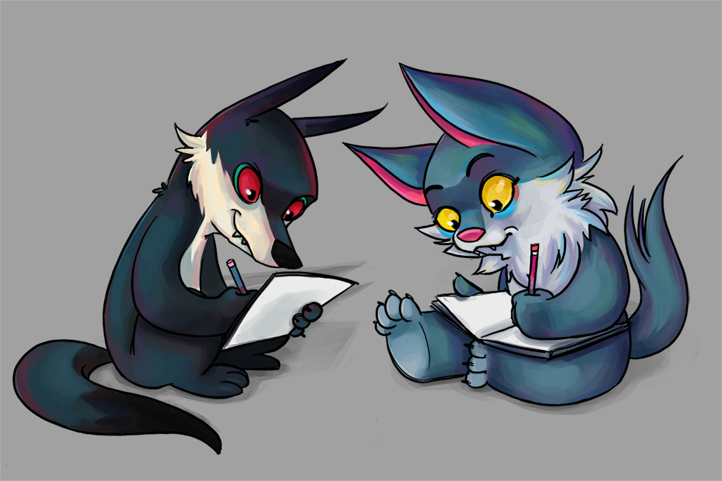Wereric and Berf drawering by berf