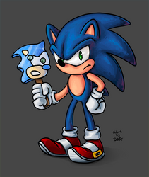 TsaoShin's Sonic colored! by berf