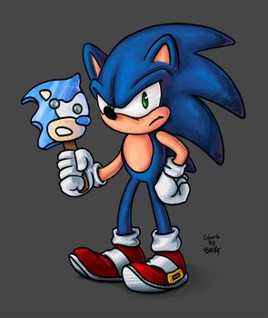 TsaoShin's Sonic colored!