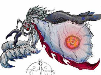 Marmeth ~ The Moon-Themed Moth of Midnight! by XEternalBarugon