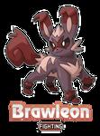 Brawleon! by SplatterParrot