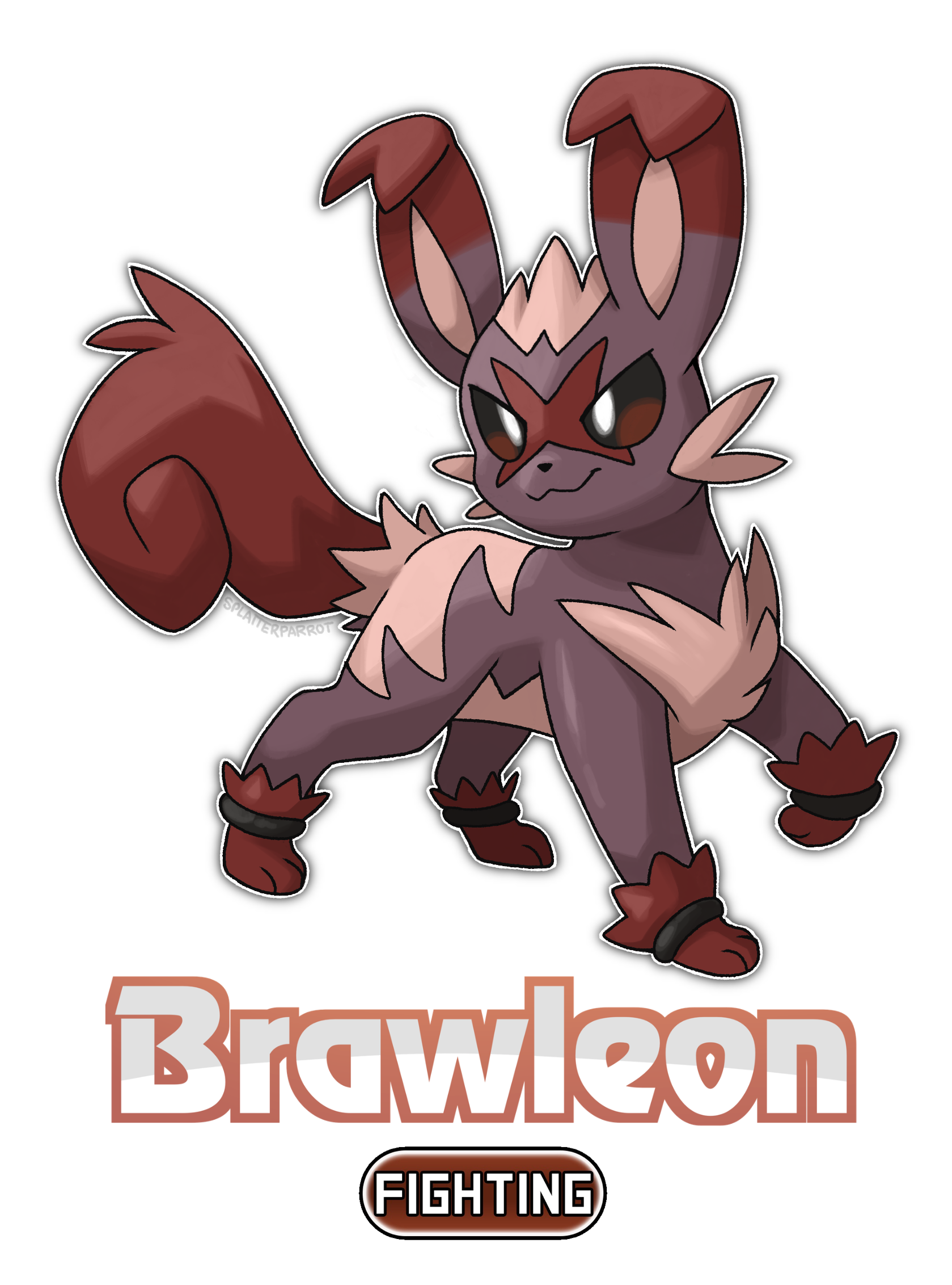 Brawleon! by SplatterParrot on DeviantArt