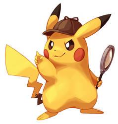 Detective Pikachu! by SplatterParrot