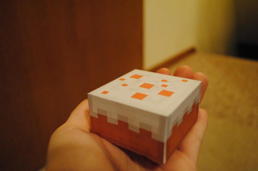 Hello minecraft cake by Maximum-Ride14