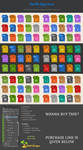 90 Flat File Types Icons