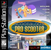 Scootaloo's Pro Scooter
