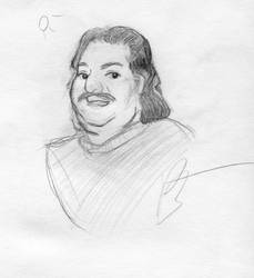 Ron Jeremy sketch
