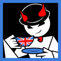 Villain Has British Accent