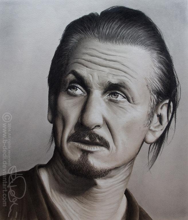 SEAN PENN drawing by b-Dedi