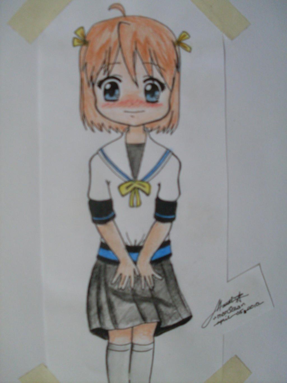 Anime Girl by todayismandi