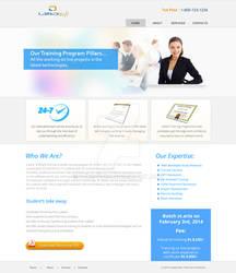 Website - institute website lauout
