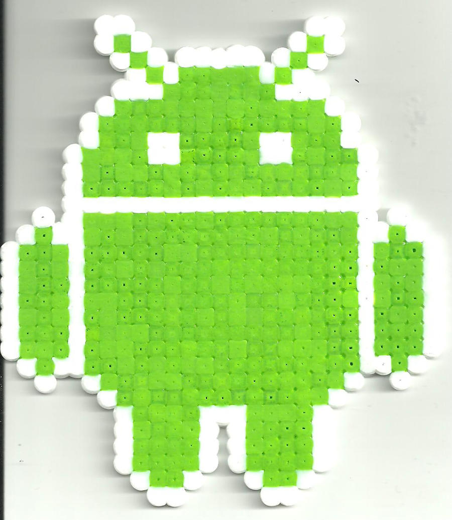 Android by Ravenfox-Beadsprites