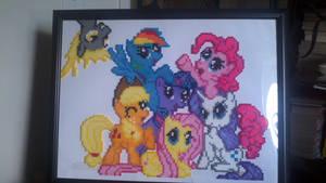 My Little Pony - Derpy Photo Bomb by Ravenfox-Beadsprites
