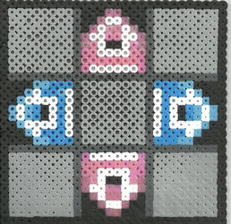 DDR Pad by Ravenfox-Beadsprites