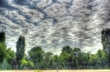 tennis court by ovidoo
