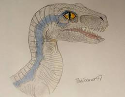 Jurassic World: Blue by TheTooner47