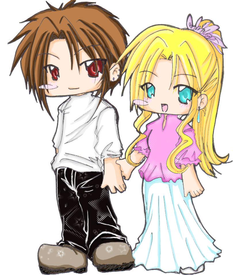 Cute Couples Anime Chibi