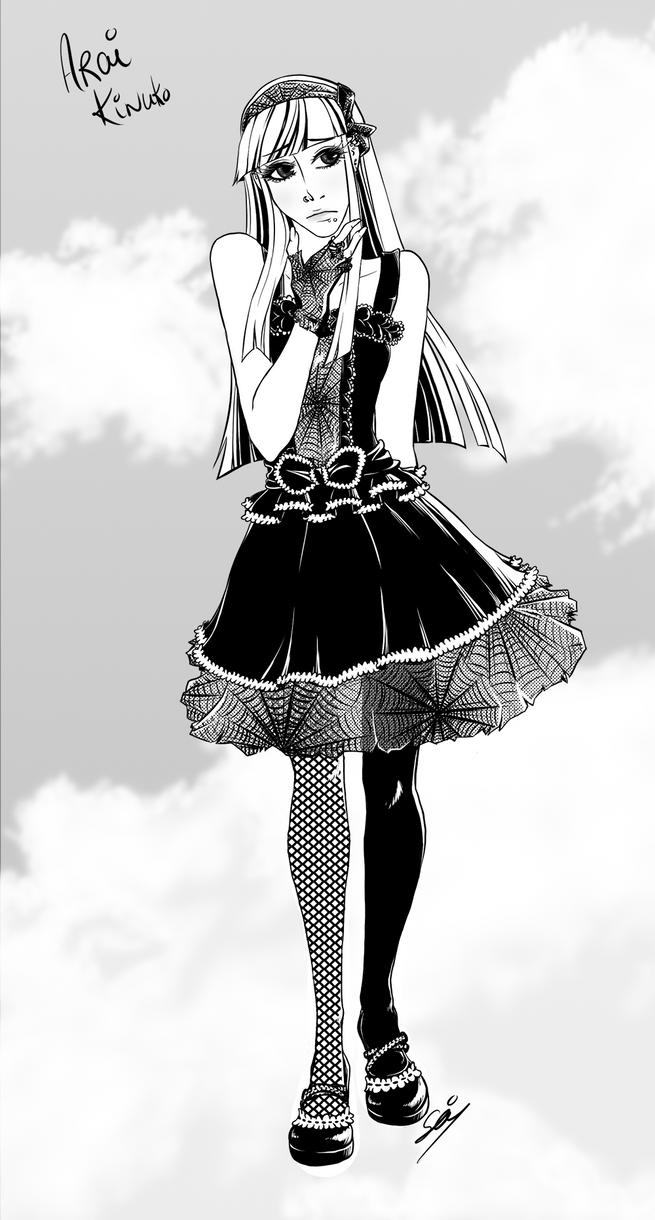 Arai Kinuko by Seiteki9