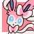 Little Sylveon Icon by kittenundead
