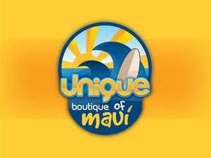 Logo for Unique Boutique of Maui