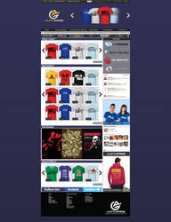 Gamers Apparel Website