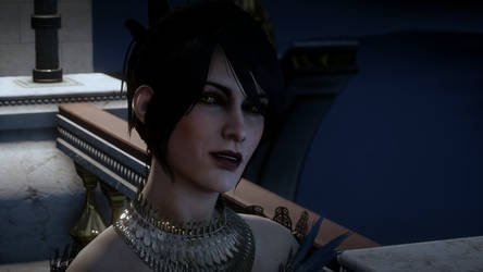 Lady Morrigan, Adviser to the Empress by sonicassassin1