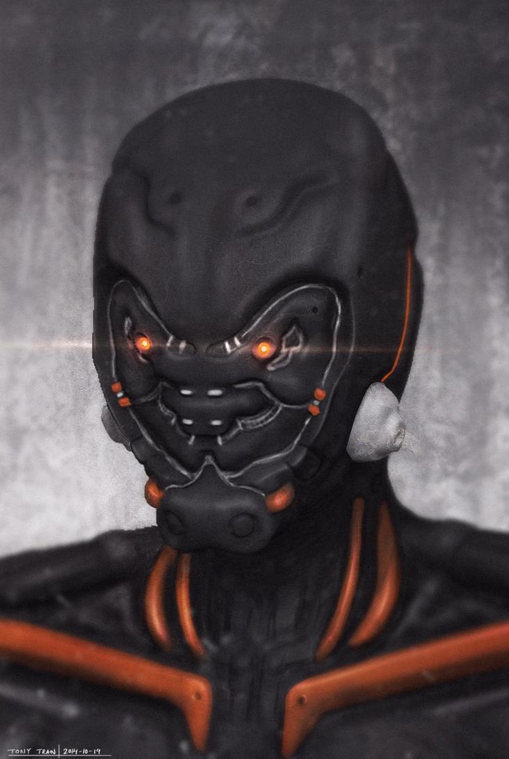 Cyborg Soldier by ZhouJiaSheng
