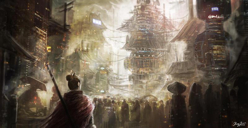 Urban environment practice by ZhouJiaSheng
