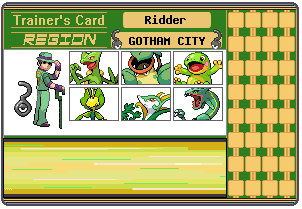 Riddler Trainer Card by 658z743z