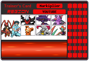 Markiplier Trainer Card by 658z743z