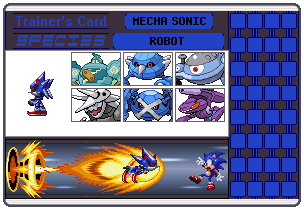 Metal Sonic Trainer Card by 658z743z