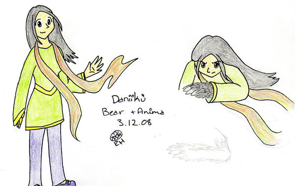 Daniiku - Bear +Anima by MineralRabbit