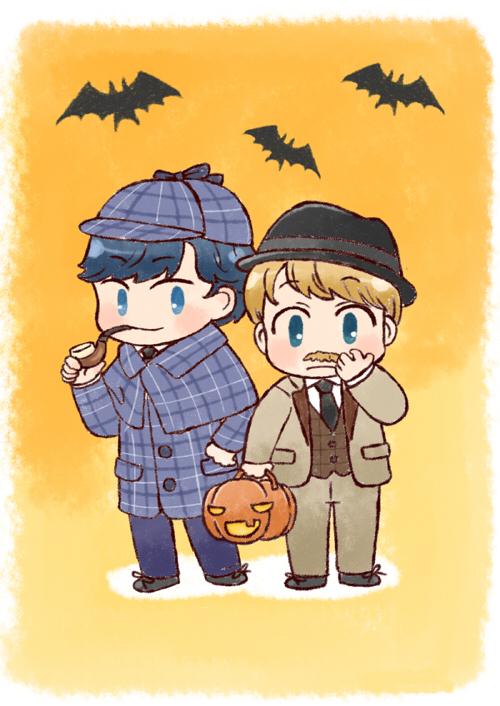 [BBC SHERLOCK] Halloween by twosugars16