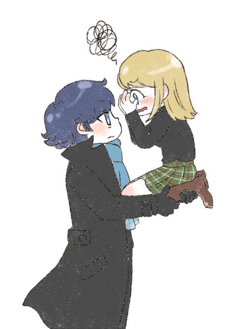 Sherlock x Joanna by twosugars16