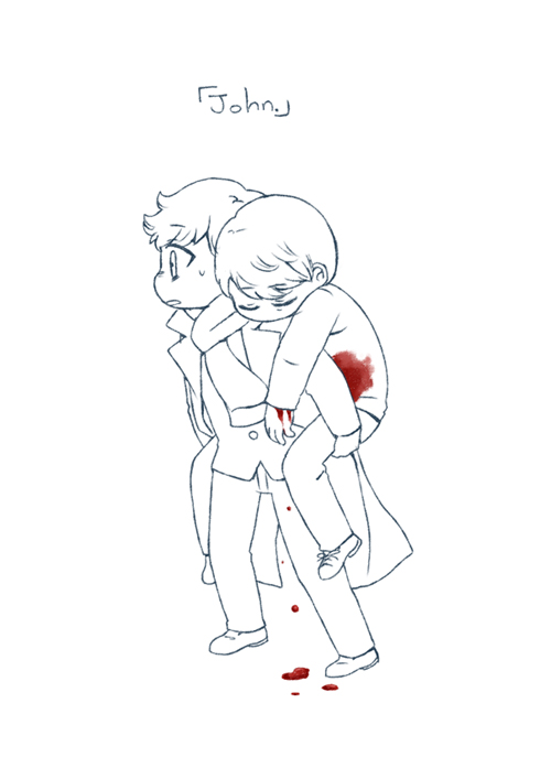 [BBC SHERLOCK] Blood by twosugars16