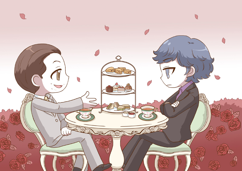 [BBC SHERLOCK] Afternoon tea in the garden by twosugars16