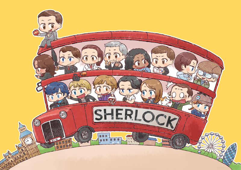 [BBC SHERLOCK]Characters of Sherlock by twosugars16