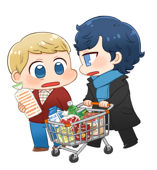 [BBC SHERLOCK] Shopping by twosugars16