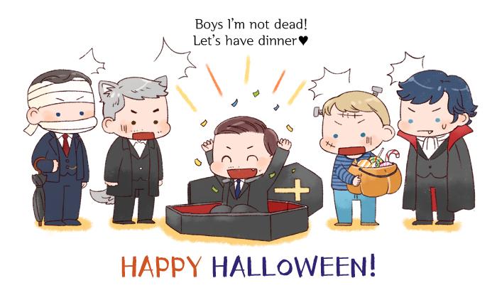 [BBC SHERLOCK]Halloween by twosugars16