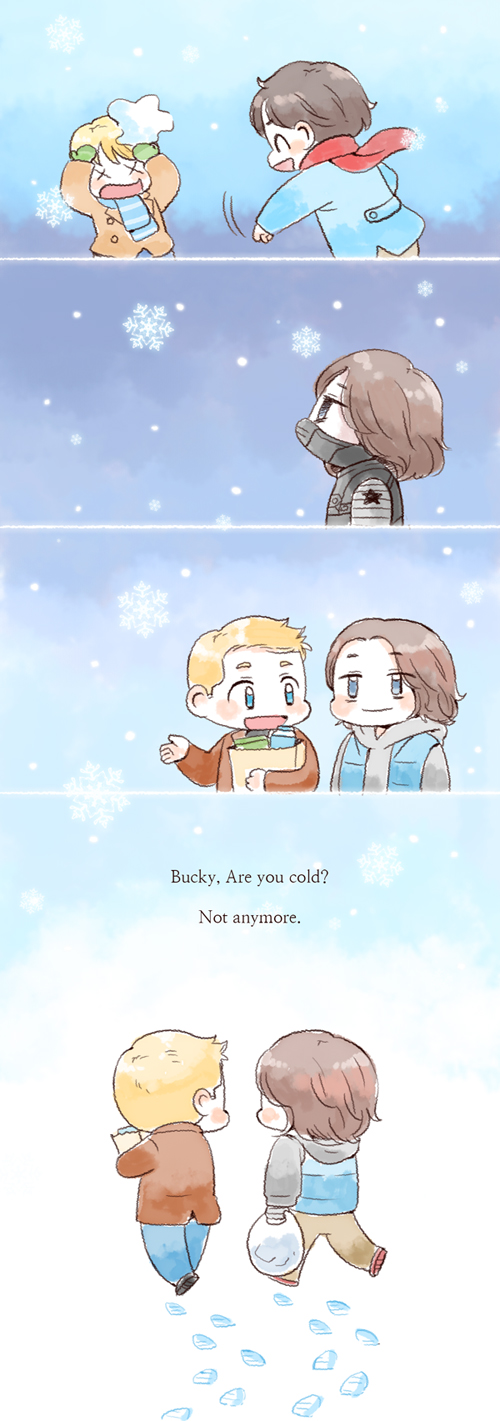 [MARVEL]Winter by twosugars16