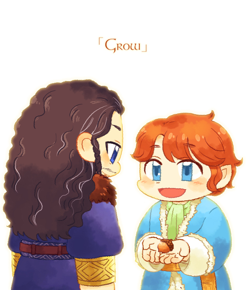 [HOBBIT]Grow by twosugars16
