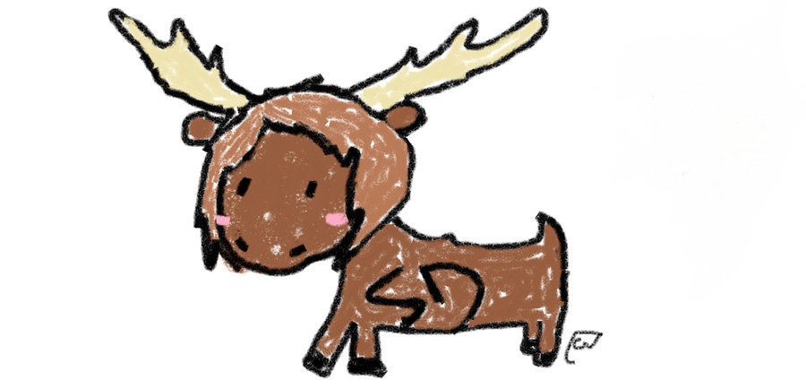 how to draw a moose youtube