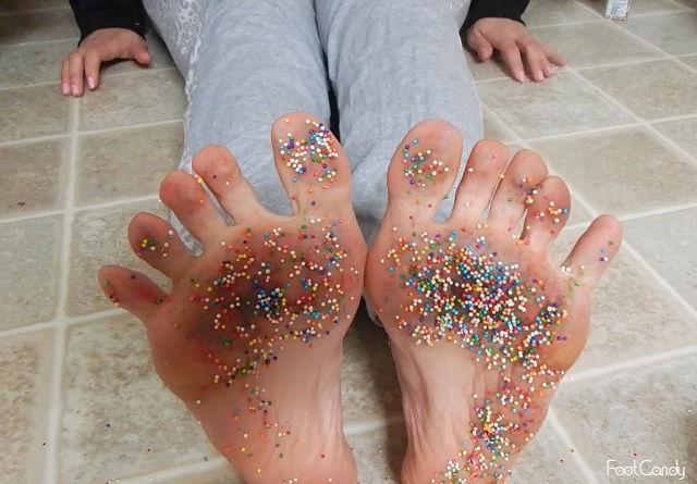 Sprinkles on my Toes