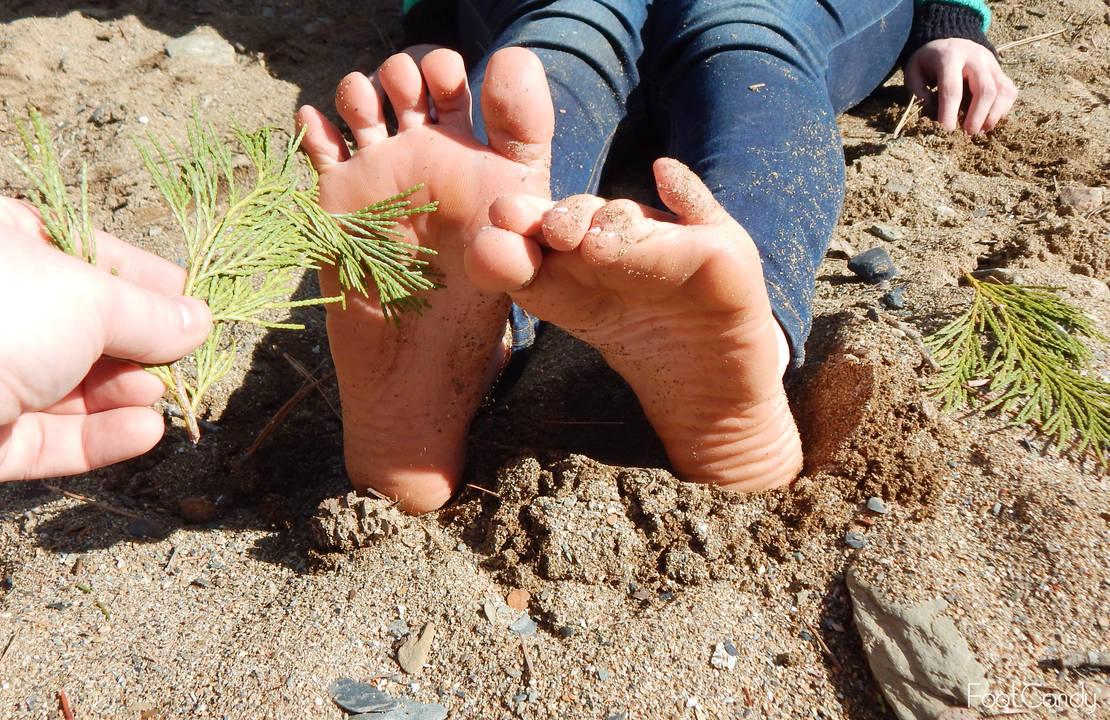 Tickling my Feet