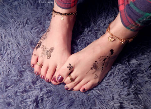 Anklets ToeRings and Tattoos