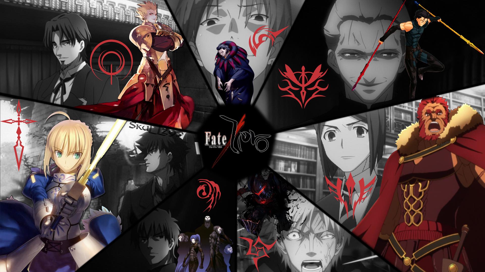 Fate Zero Masters And Servants Wallpaper By Skullz95 On Deviantart