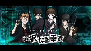 Psycho Pass~Agents ///Wallpaper\\\