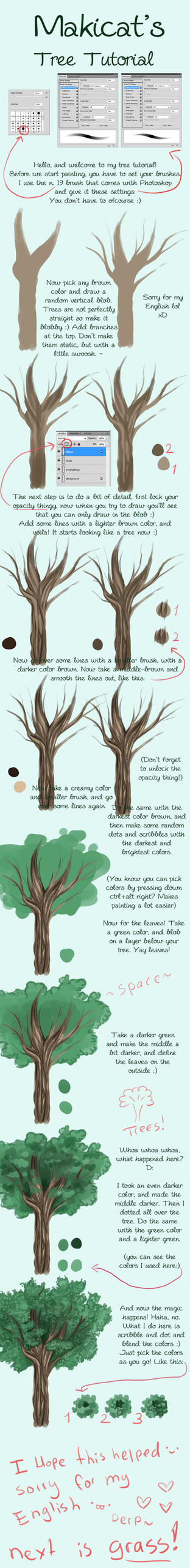 Tree Tutorial by Makirou