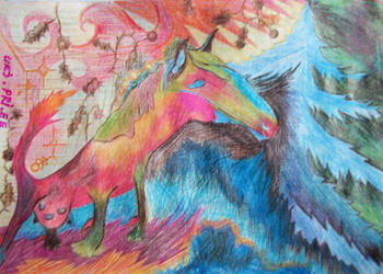 Dragon-milker-horse